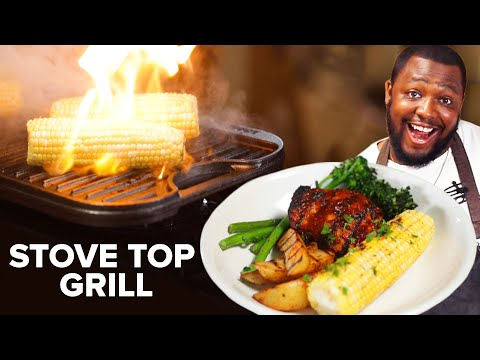 How To BBQ on a Stove Top Grill ? Tasty