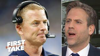 'No cowards allowed on my team!' - Max Kellerman dislikes Jason Garrett to the Giants | First Take
