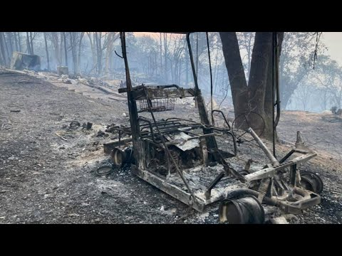 Thousands evacuated due to River Fire burning in Placer, Nevada counties | RAW