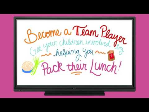 Healthy Lunchbox Packing Tips - Back to School Made Simple with Sharp!