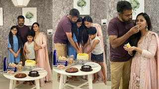 Tollywood director Sukumar's wife Thabitha birthday celebr..