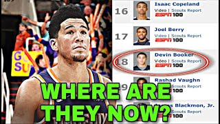 What Happened To Every Prospect Ranked Above Devin Booker?