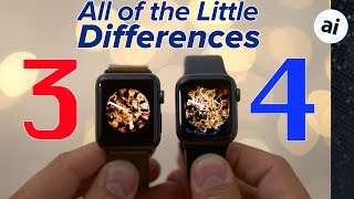 Apple Watch Series 4 vs Series 3 - Full Comparison!