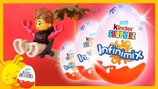 MAXI oeufs surprises KINDER infinimix filles et garçons - Titounis - Touni Toys