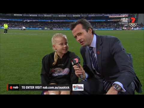 2016 NAB AFL Auskicker of the Year – Rd 16 Nominee
