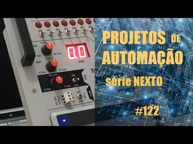 FORNO DE MICROONDAS EMULADO NO CLP NEXTO | Projetos de Automação #122