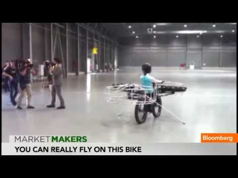 Flying 'Helicopter Bike'' Brings 'E.T.' To Real Life - Smashpipe News