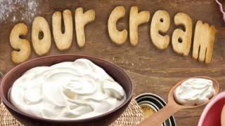 طريقة عمل ساور كريم او الكريمة الحامضة فى البيت - sour cream