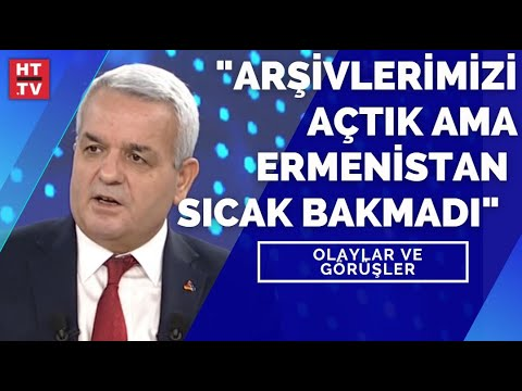 """Prof. Dr. Sarınay: """"Türkiye arşivlerini açtı ama Ermenistan sıcak bakmadı"""" Olaylar ve Görüşler"""