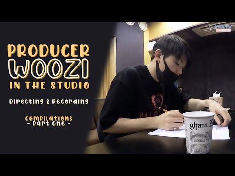 [ENG SUB] Seventeen Woozi in Recording Studio [Going Seventeen cut]