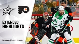 Dallas Stars vs Philadelphia Flyers Oct 19, 2019 HIGHLIGHTS HD