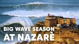 The Historic Nazaré Season of 2017-2018 | Sessions
