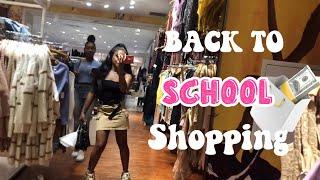 BACK TO SCHOOL SHOPPING VLOG!!