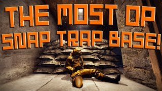 THE MOST OP SNAP TRAP BASE IN RUST! - Rust Trap Base