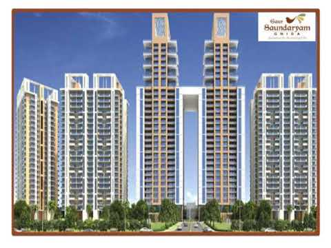 High-rise luxury residential project Gaur Atulyam