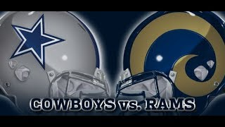 Cowboys rally to beat Rams - Full Game - 4th Quarter - 09/21/2014