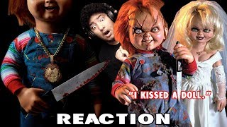 Chain of Chucky Fan Film & Chucky + Tiffany Love Song (I Kissed A Doll) REACTION