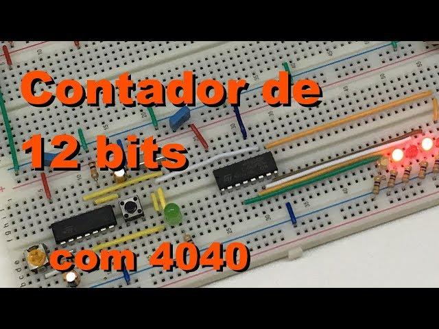 CONTADOR DE 12 BITS | Conheça Eletrônica! #056