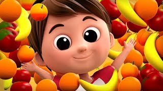 The Fruits Song Learn Fruits Nursery Rhymes Baby Songs Kids Rhymes For Children