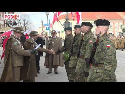 Uroczysta przysięga wojskowa na jarosławskim rynku