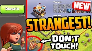 NEW Strange but TRUE Clash of Clans Players and Bases! STRANGEST Yet?!