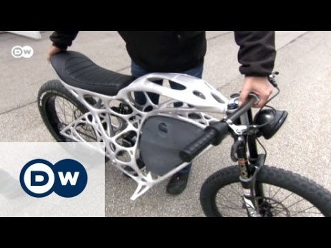 The world's first 3D-printed motorcycle | Euromaxx