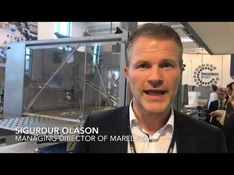 SIgurdur Olason, managing director of Marel Fish