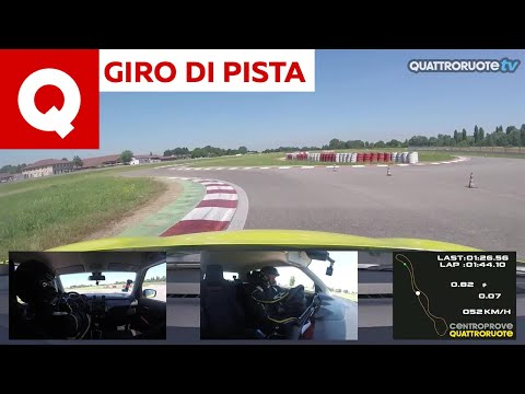 Giro di pista: la Suzuki Swift Sport 1.4 Boosterjet al Vairanoring