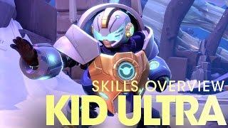 Battleborn - Kid Ultra Képességek Áttekintése