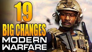 Modern Warfare: 19 Big Changes in The Final Update! (Update 1.29)