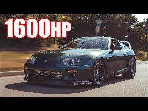 1600HP Supra $15,000 Race - 2JZ Underdog Upsets Domestic LS V8's!