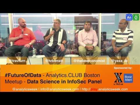 Discussing #InfoSec with @travturn, @hrbrmstr(@rapid7) @thebearconomist(@boozallen) @yaxa_io