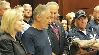 Jon Stewart goes to bat for 9/11 first responders