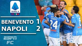 Insigne brothers both find the net as Napoli rally to beat Benevento | ESPN FC Serie A Highlights