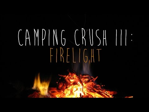 [ASMR] Camping Crush III: Firelight (crush roleplay, whispering, crickets, fire sounds)