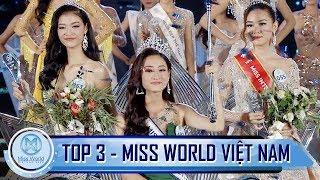 Top 3 Miss World Việt Nam 2019 - Hoa Hậu Lương Thuỳ Linh