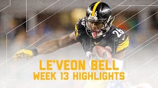 Le'Veon Bell's Electric Game with 182 Yards! | Giants vs. Steelers | NFL Week 13 Player Highlights