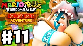 Mario + Rabbids Kingdom Battle: Donkey Kong Adventure DLC - Gameplay Walkthrough Part 11