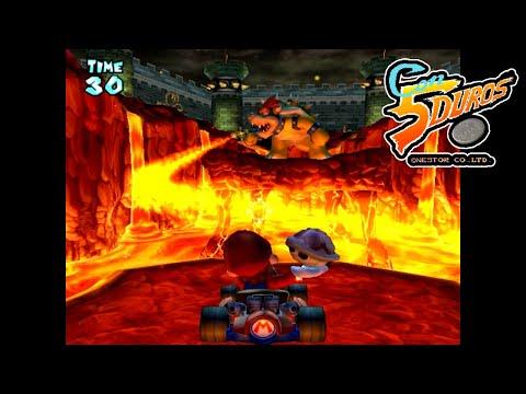 """MARIO KART ARCADE GP (BOWSER CUP)  - """"CON 5 DUROS"""" Episodio 874 (+ Mario Kart Double Dash/4P) (1cc)"""