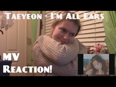 Taeyeon/태연 - I'm All Ears/겨울나무 MV Reaction - Hannah May