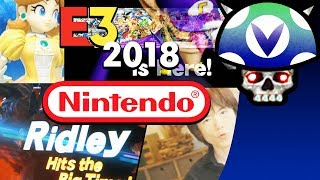 [Vinesauce] Joel - E3 2018: Nintendo ( With Chat )