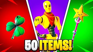 The SWEATIEST Fortnite Items of 2021