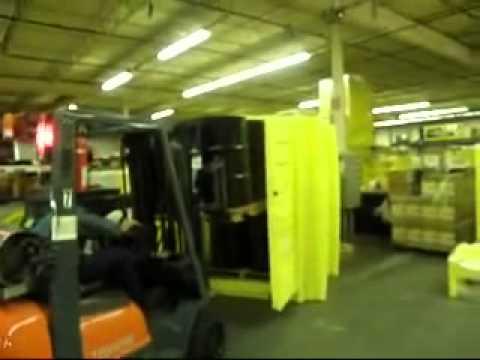 BARR Spill Control Job Hut Outdoor Spill Containment