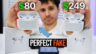 The PERFECT Fake AirPods Pro Are Here! $80