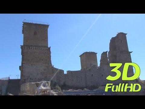 [3DHD] Walking Tour/Gyalogtúra: Castle of Diosgyor/Diósgyőri vár, Miskolc, Hungary/Magyarország
