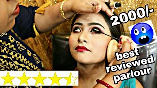 I WENT TO THE BEST REVIEWED MAKEUP ARTIST IN INDIA KOLKATA | RIA