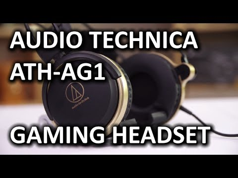 Audio Technica ATH-AG1 Gaming Headset - Smashpipe Tech