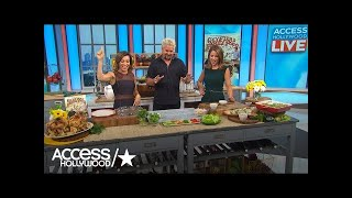 Guy Fieri Shows Us How To Make His Go-To Family Recipes | Access Hollywood