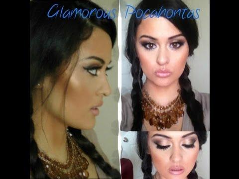 Glamorous Pocahontas
