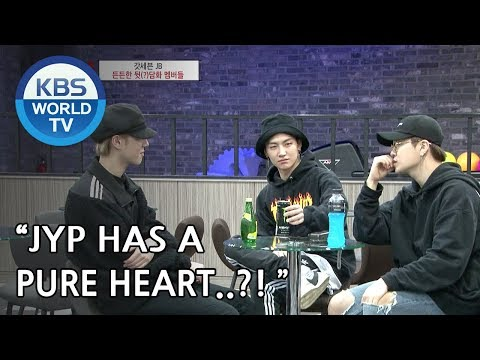 JB and GOT7 members talk about JYP [Hyena On the Keyboard/ 2018.05.02]